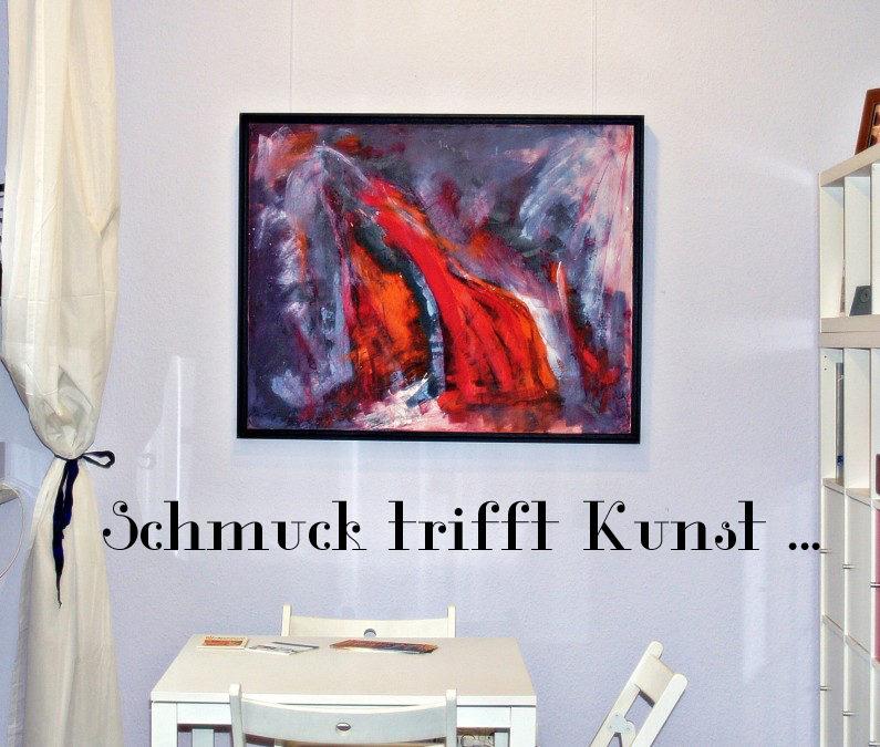 Schmuck trifft Kunst …