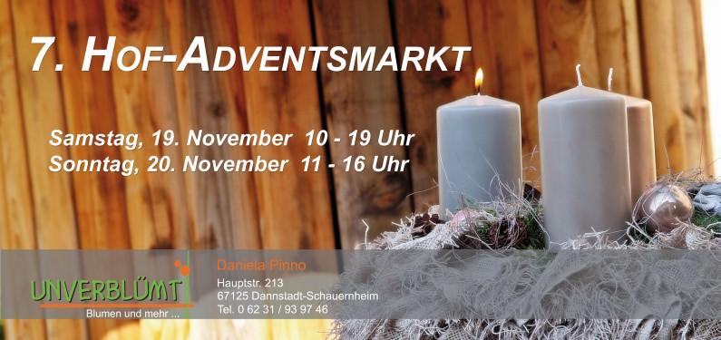 Einladung zum Hof-Adventsmarkt