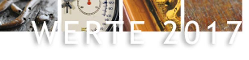 Ausstellung WERTE 2017 – Werkstätten traditioneller Handwerkskunst