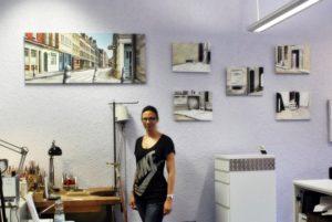 """Jutta Stein stellt ihre Serie """"London crime"""" in der Goldschmiede vor"""